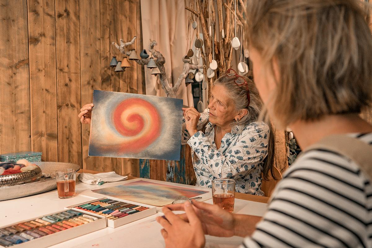 creative begeleiding therapeut Rotterdam hartseer